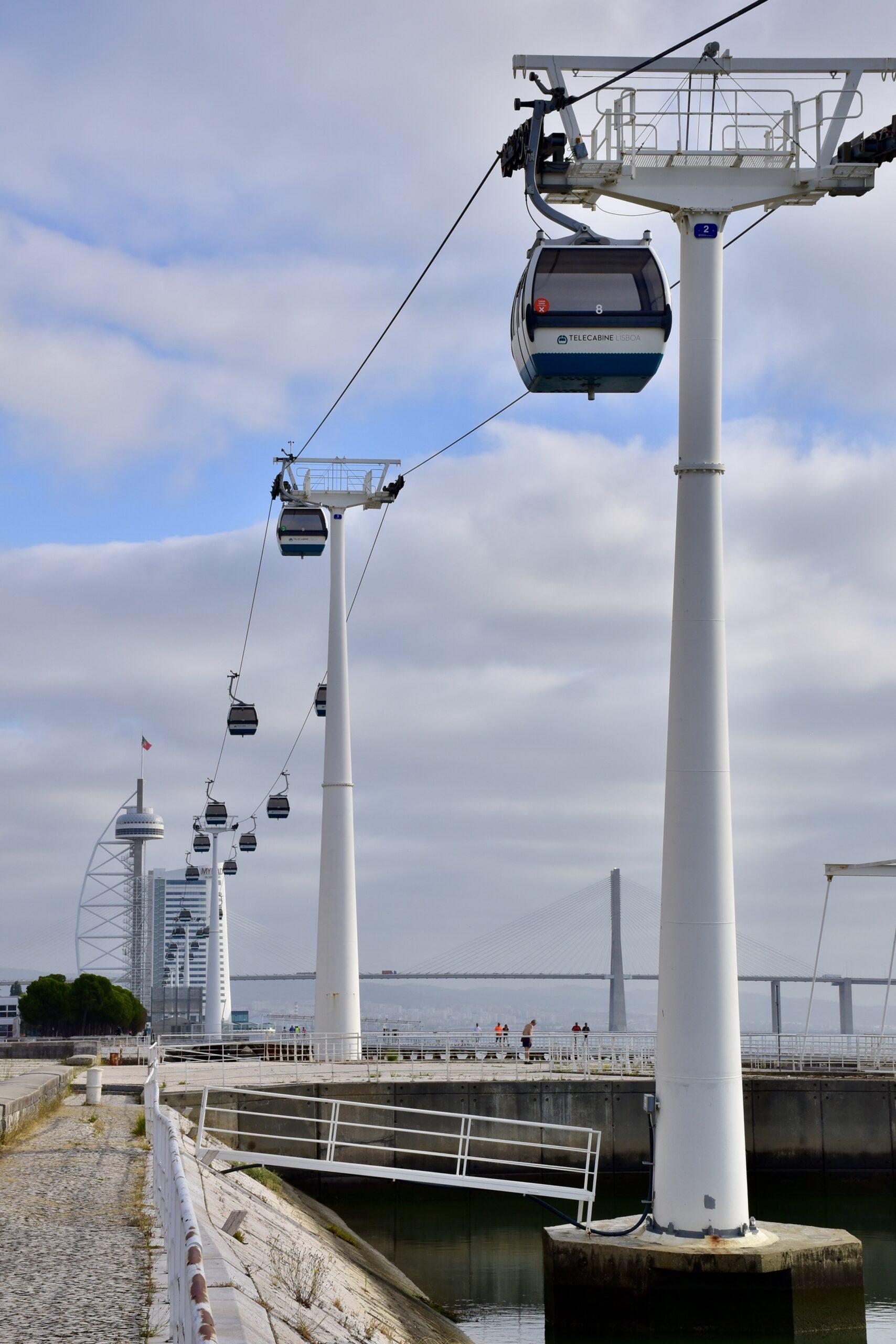 parque das nações, teleférico, lisboa, turismo
